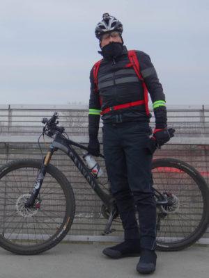 Fahrradbekleidung Bei -9°C