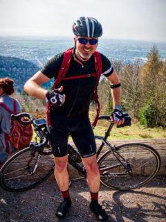 Mit Dem Rennrad Auf Dem Königsstuhl